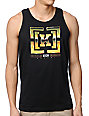 KR3W Chrome Black Tank Top
