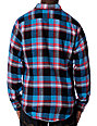 KR3W Mador Blue Flannel Shirt