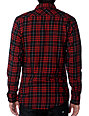KR3W Porter Red Flannel Shirt
