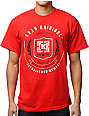 KR3W Shield Red T-Shirt