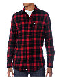 KR3W Steen Red Flannel Shirt