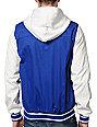 KR3W Wilcox 2 Blue & White Varsity Jacket