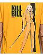Kill Bill Poster Yellow T-Shirt