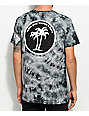 Know Bad Daze Wish You Black Washed Tie Dye T-Shirt