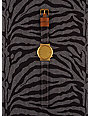 Komono Wizard Print Denim Zebra Watch