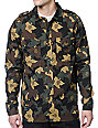 LRG Bushman Camo Long Sleeve Button Up Shirt