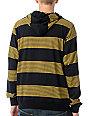 LRG CC Black & Yellow Stripe Pullover Hoodie