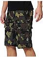 LRG CC Olive Ripstop Camo Cargo Shorts