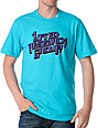 LRG Chisled Up Turquoise T-Shirt