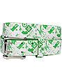 LRG Classic White & Green Belt
