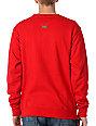 LRG Free Rein Red Crew Neck Sweatshirt