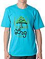 LRG Here We Grow Again Turqoise T-Shirt