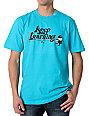LRG Keep Earning Turquoise T-Shirt