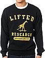 LRG Lifted Academy Black Crew Neck Sweatshirt