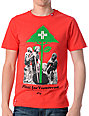 LRG Seedling Slim-Fit Red T-Shirt