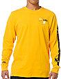 LRG Splitter Yellow Long Sleeve Shirt