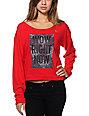 LRG Target Red Crew Neck Sweatshirt