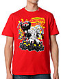 LRG Tokyo Monsters Red T-Shirt