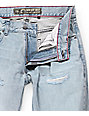LRG True Taper Damaged Grey Regular Fit Jeans