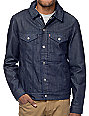Levi's Indigo Commuter Hooded Trucker Jacket II