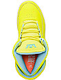 Lil Wayne x Supra SPECTRE Chimera Highlighter Yellow Shoes