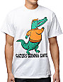 Local Legends Gators Gonna Gate White T-Shirt