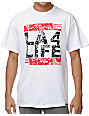 Local Legends LA 4 Life White T-Shirt