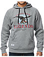 Local Legends Original Local Heather Grey Pullover Hoodie