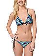 Lost Swimwear Maya Tribal Halter Bikini Top
