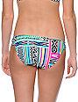 Malibu Colorifelds Multicolor Tab Side Bikini Bottom