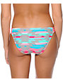 Malibu Eagles Wings Geo Print Bikini Bottom