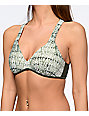 Malibu Gypsy Queen Olive Molded Push Up Bikini Top