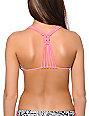 Malibu Summer Solstice Geo Print Triangle Bikini Top