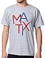 Matix Scatter Heather Grey T-Shirt