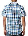 Matix Vickers Blue Plaid Woven Shirt