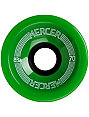 Mercer 70mm Greeen 83a Skateboard Wheels