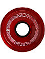 Mercer 72mm Red 78a Skateboard Wheels