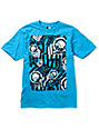 Metal Mulisha Boys Print Blue T-Shirt