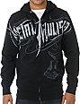 Metal Mulisha Eager Black Zip Up Hoodie