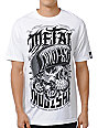 Metal Mulisha Hoodlum White T-Shirt