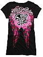 Metal Mulisha In Step Black Scoop Neck T-Shirt