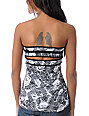 Metal Mulisha Mia Snakeskin Graphic Tube Top