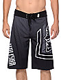 Metal Mulisha Mighty Black 23 Board Shorts
