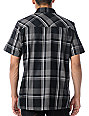 Metal Mulisha Pristine Plaid Short Sleeve Button Up Shirt