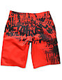 Metal Mulisha TOTFC Red Board Shorts