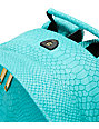 Mi-Pac Gold Teal Python Backpack