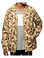 Mighty Healthy Camo Nylon Coaches Jacket