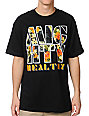 Mighty Healthy Fantasy Island Black T-Shirt