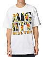 Mighty Healthy Fantasy Island White T-Shirt