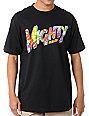 Mighty Healthy Hippie Black T-Shirt